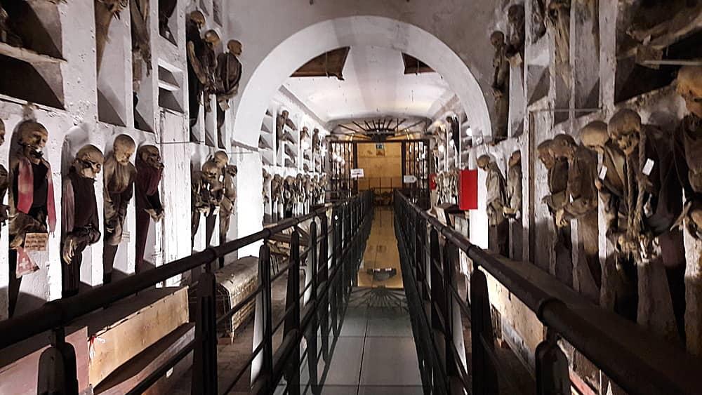 Le mummie dei cappuccini di Palermo